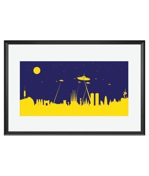 Barcelona Skyline Ovni