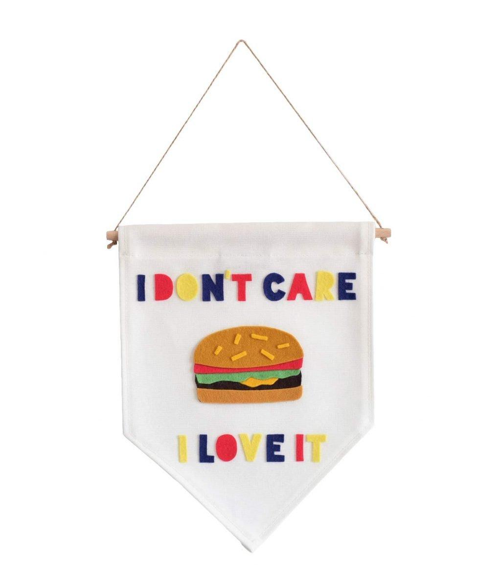 I don't Care Banner