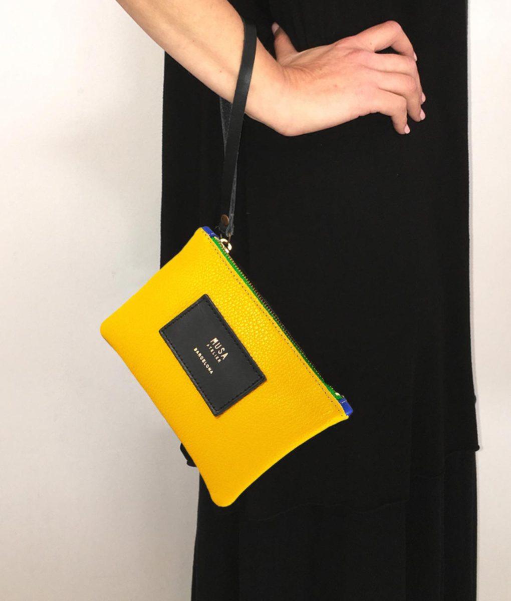 bolso musa amarillo