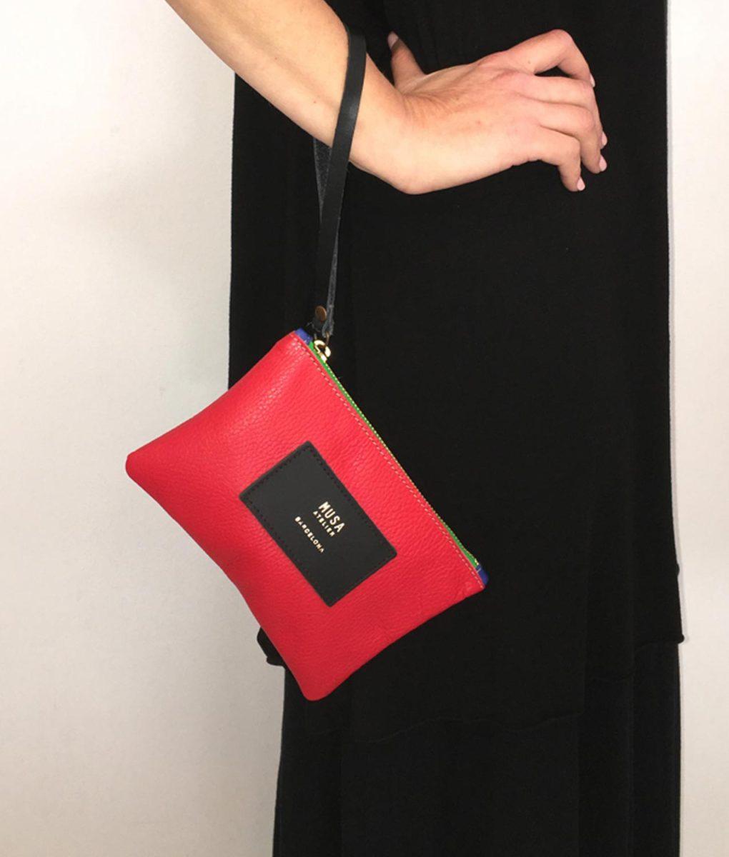 bolso de mano musa rojo 2