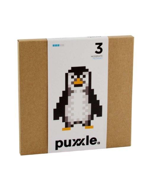 caja pinguino