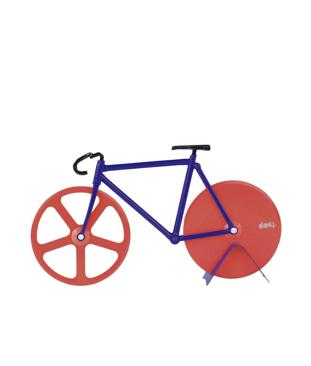 bicicleta cortador pizza