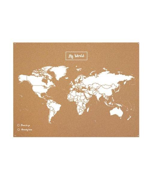Mapa Mundo Corcho