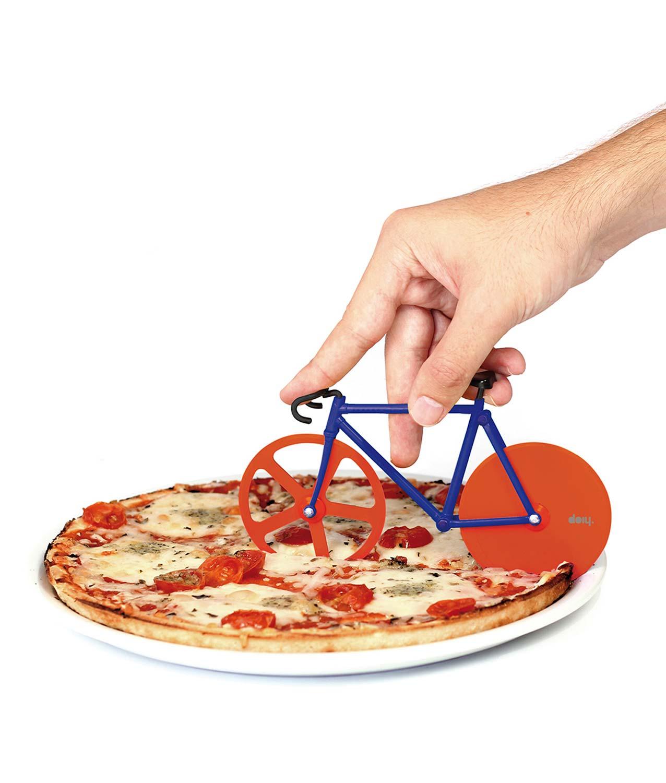 bicicleta cortador pizza detalle