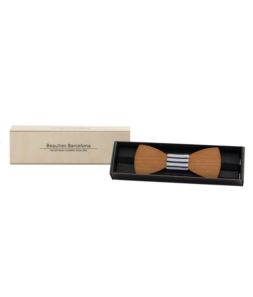 packaging pajarita madera