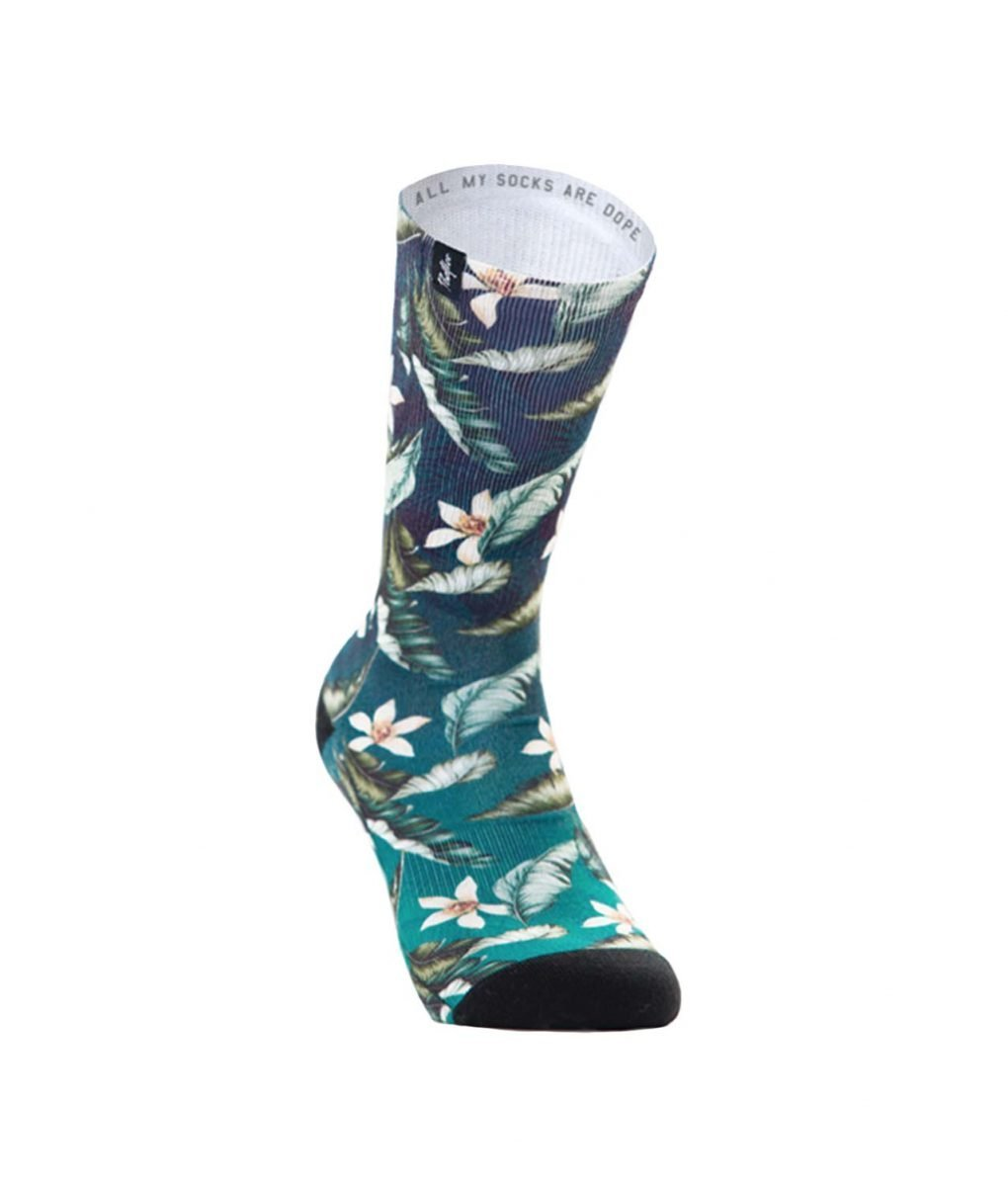 calcetines hawaii