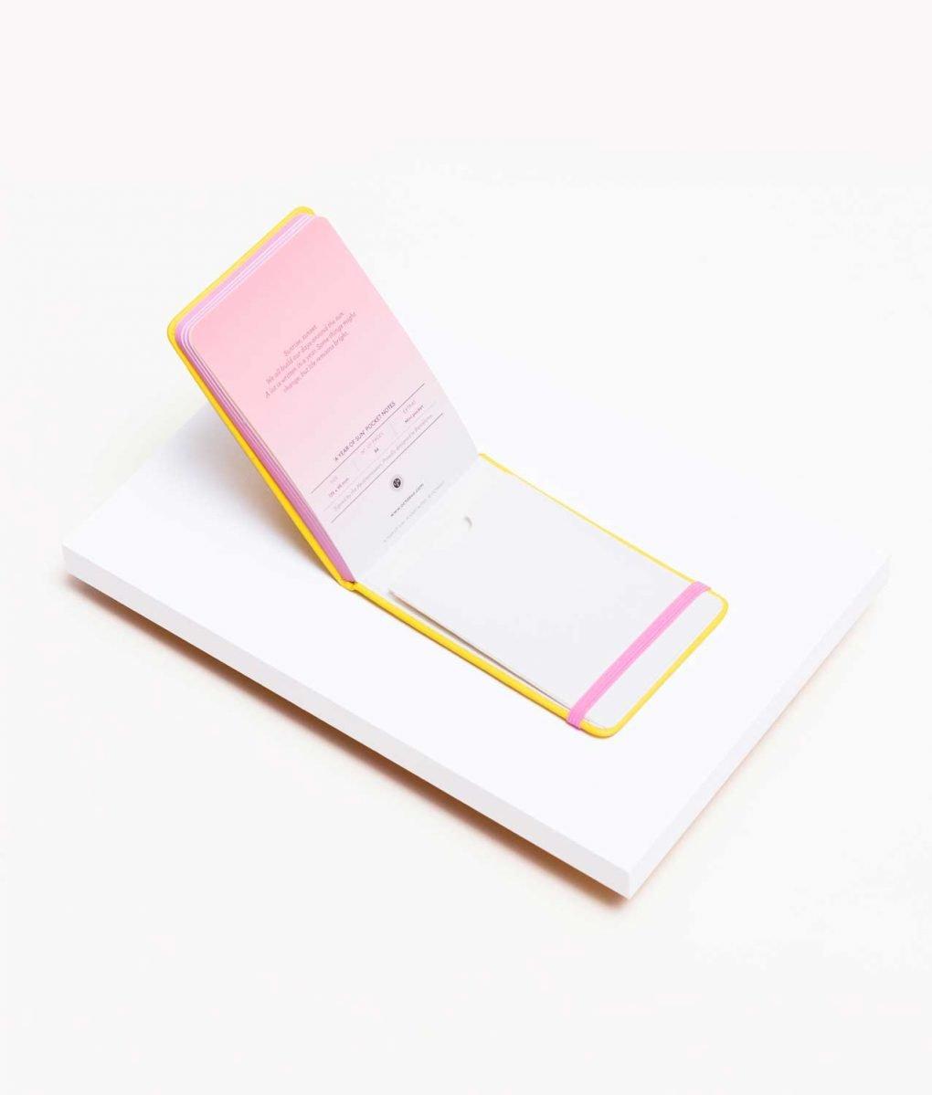 Libreta Pocket Amarilla