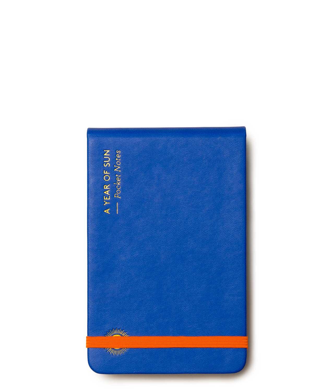 Libreta Pocket Azul octaevo