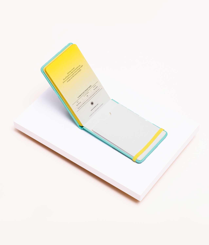 Libreta Pocket Menta