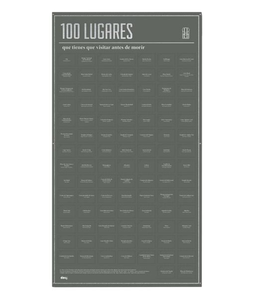 100 lugares