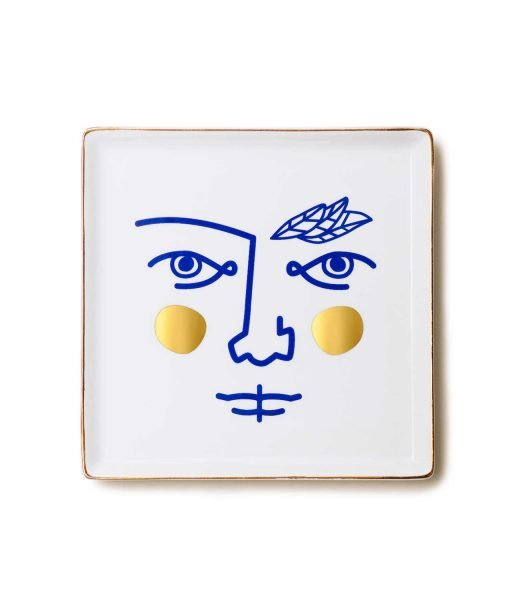 bandeja de cerámica janus