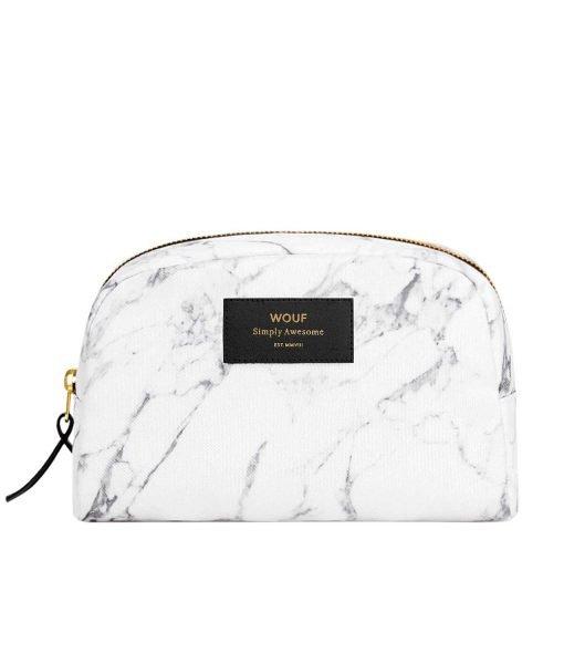 White Marble Beauty Bag