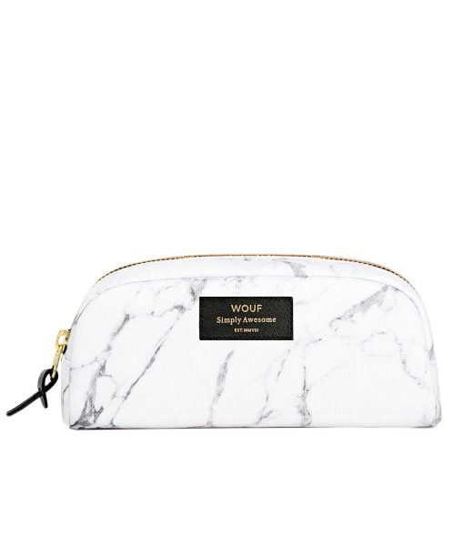 White Marble Small Beauty Bag