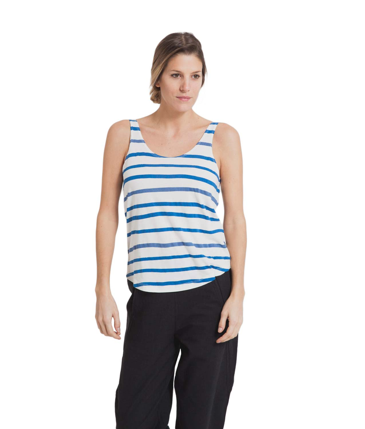 Camiseta Aquarela Stripes