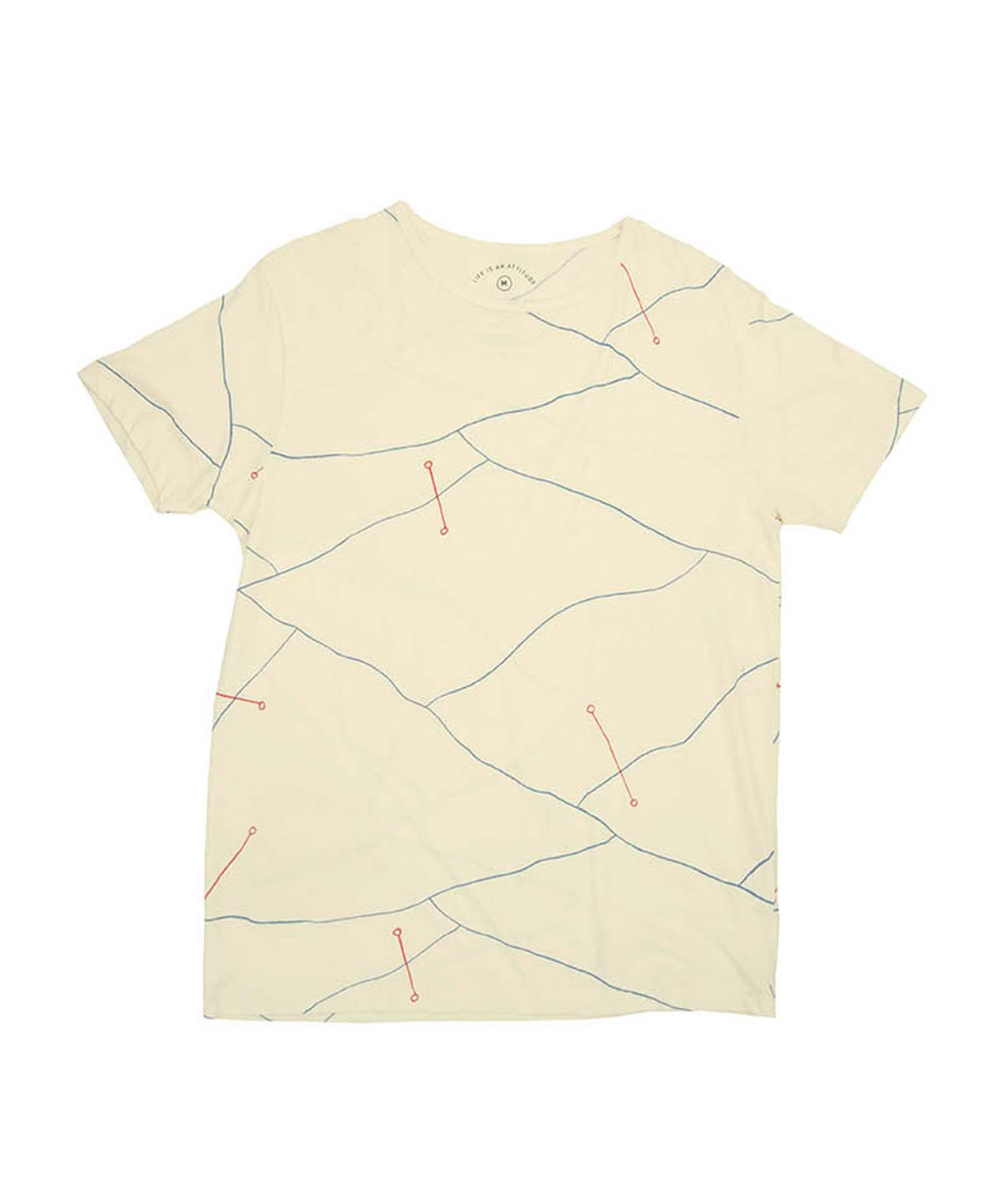 Camiseta Abstract Lines