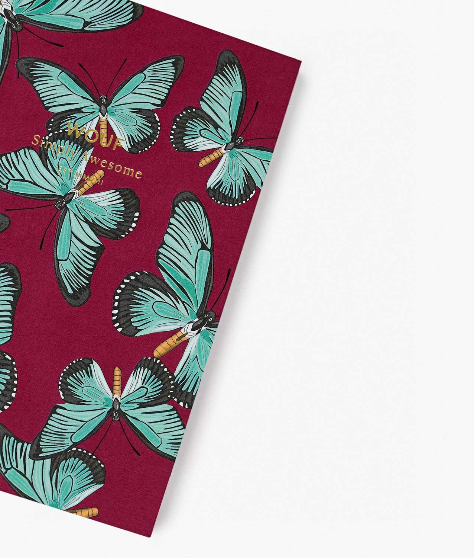 libreta mariposas