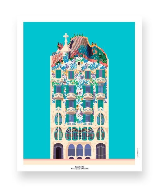 CASA BATLLO ILLUSTRATION