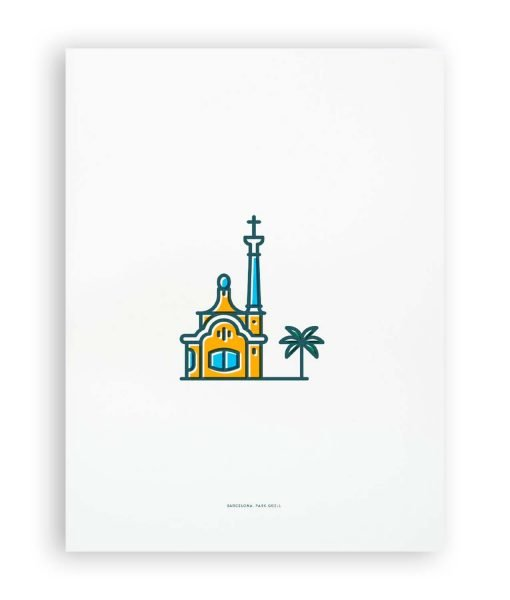 PARK GUELL ILLUSTRATION