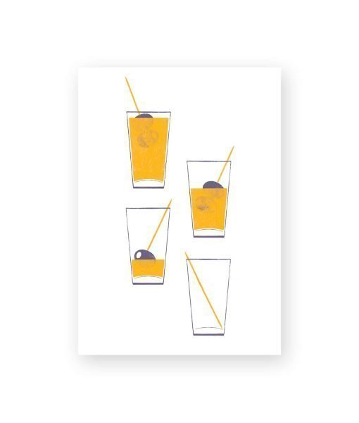 ILUSTRACION COCKTAIL
