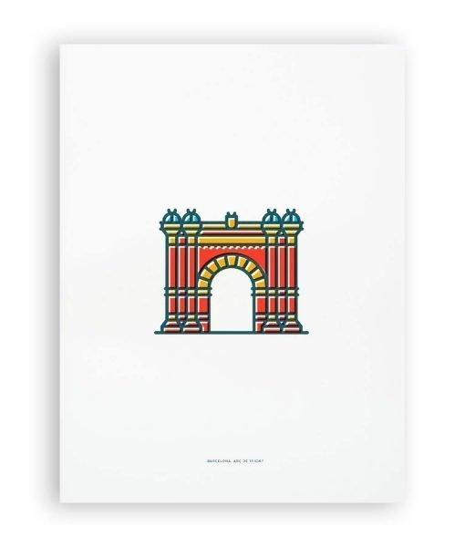ILUSTRACION ARC DE TRIOMF