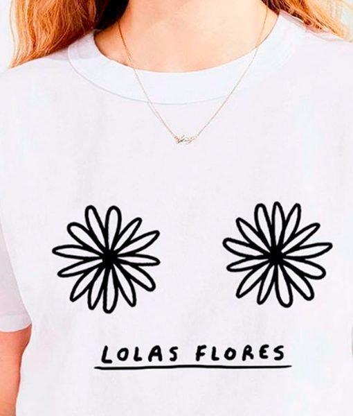 LOLAS FLORES T-SHIRT