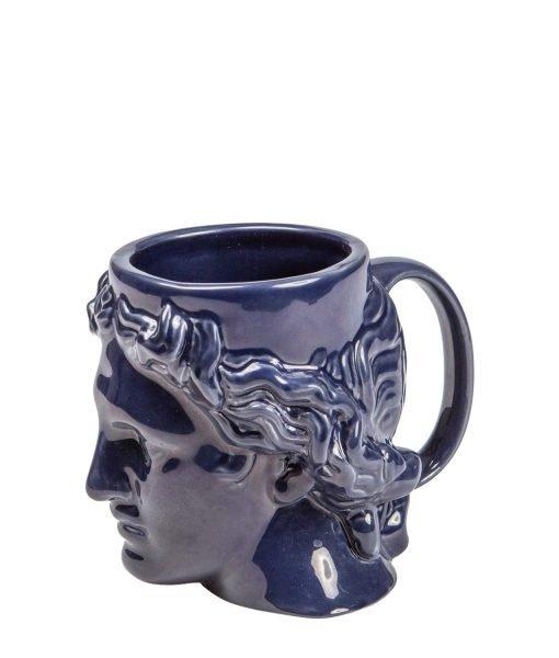 Taza azul hestia doiy
