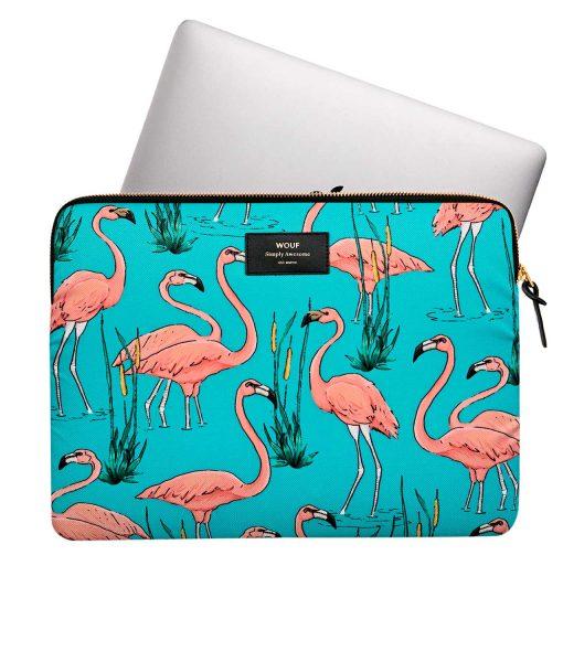 funda flamingos