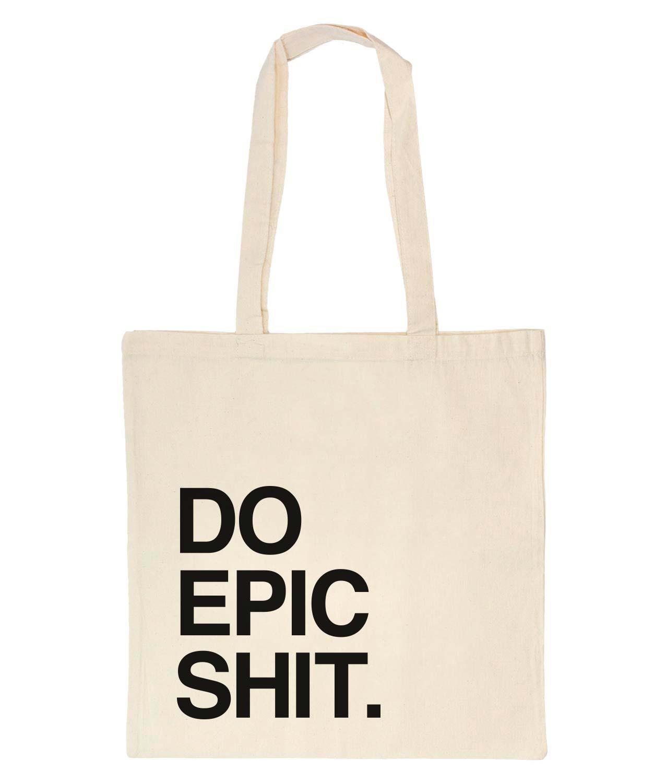 Tote Bag Do Epic White
