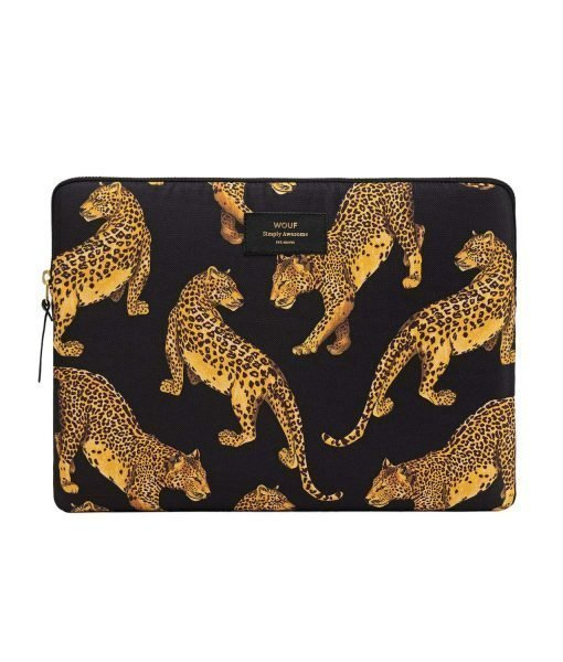 funda black leopard