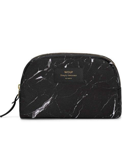 neceser marmol negro MAQUILLAJE WOUF