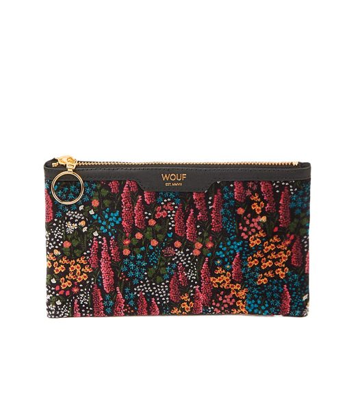 LIBERTY VELVET POCKET CLUTCH wouf