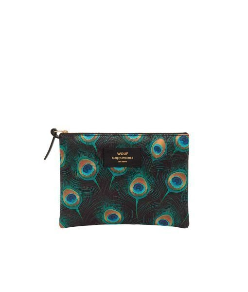 PEACOCK SMALL POUCH