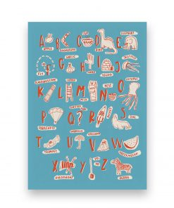 ALPHABET OF STUFF illustration sira lobo