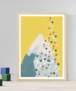 CONFETTI MOUNTAIN illustration