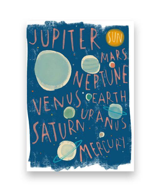 ilustración planetas sira lobo